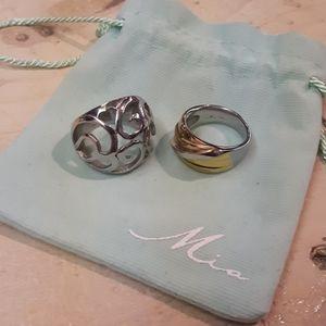 Bundle of 2 Mia Bijoux Rings